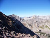 Just Below Summit, with White Baldy and the Pfiefferhorn in view