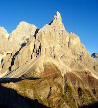 Cimon della Pala seen from Punta Rolle