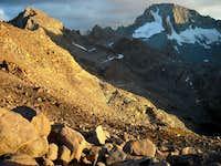 Mount Darwin from Lamarck Col