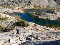 Above Evolution Lake