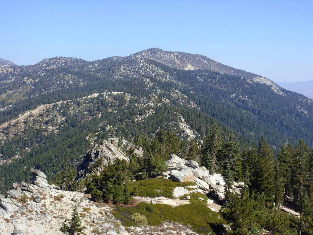 View north towards Slide Mountain