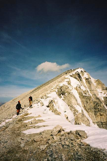 Approaching the final summit...