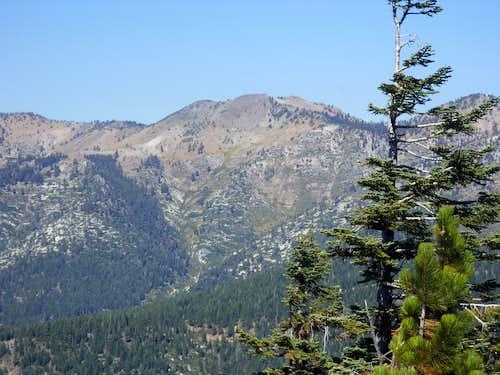 Rose Knob Peak from the Tahoe Rim Trail