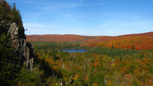 Autumn View from Oberg Mountain