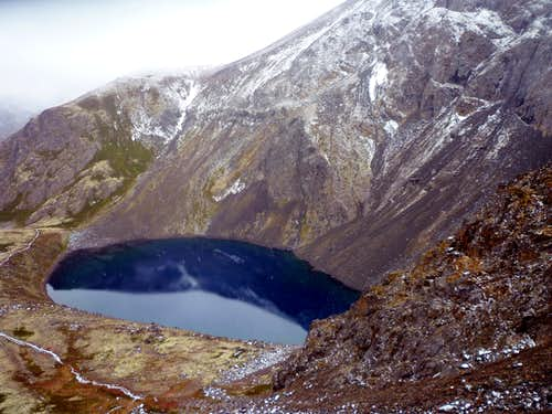 Black Lake and the Northeast Shoulder