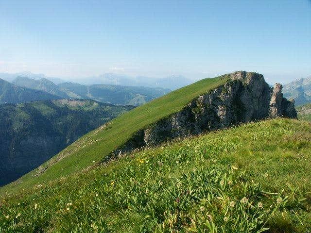 Pointe de la Chavache - the...