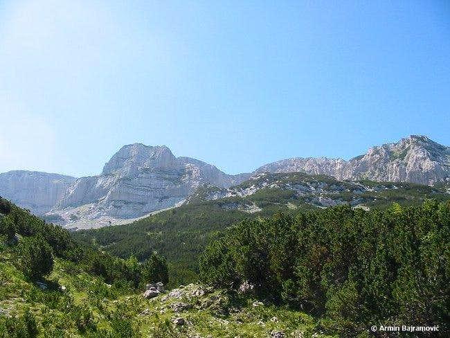 Ridge of Plocno. August, 2004