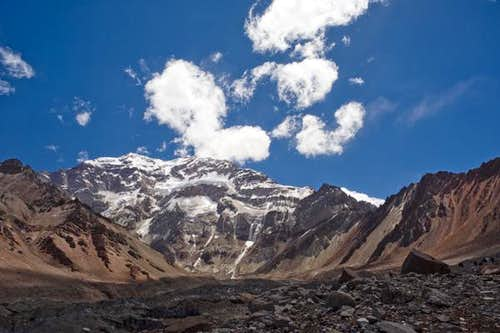 The South Face of Aconcagua