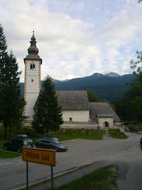 Ribčev Laz church