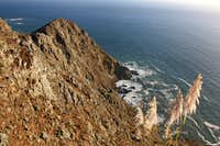 Coastal cliffs, Marin Headlands