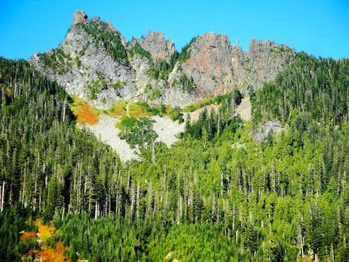 Daunting Devils Peak