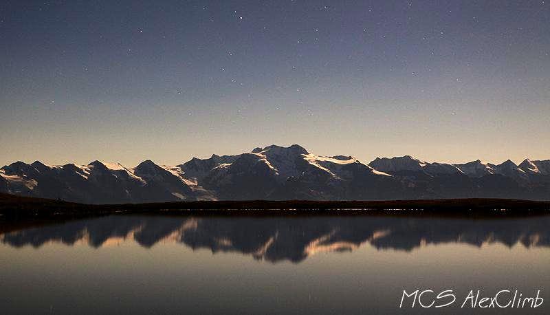 Layla mirrow night view (Koruldi lake)
