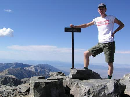 Summit of Wheeler Peak, NV...