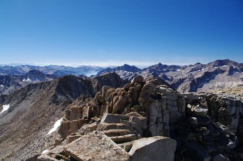 summit view towards kings canyon