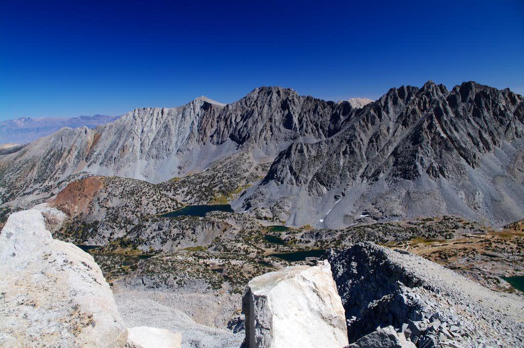 Cloudripper (center) from Mt. Goode