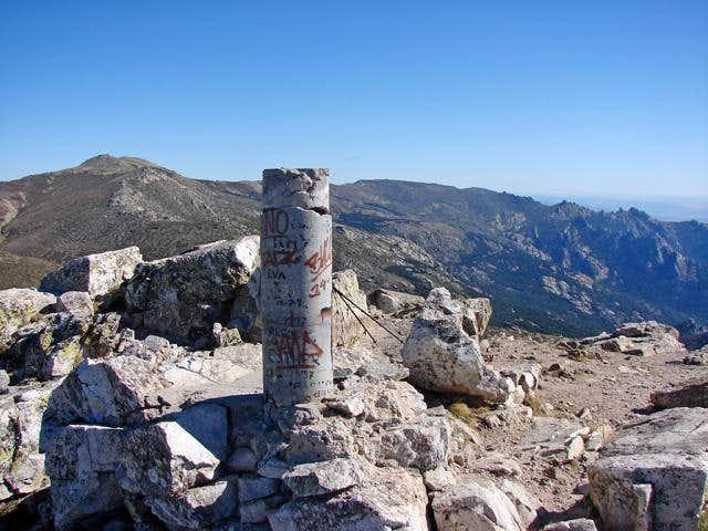 Summit of La Maliciosa