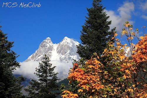 Ushba Autumn coulors