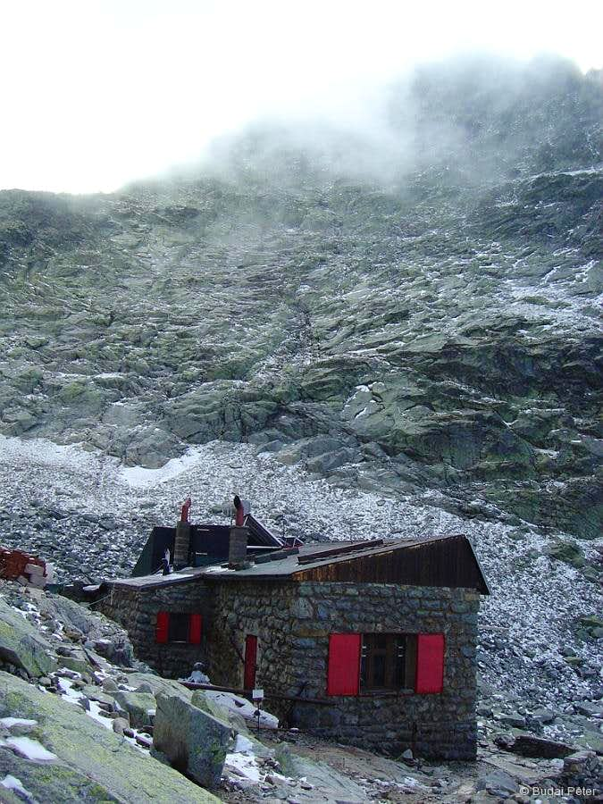 Chata pod Rysmi - the old hut
