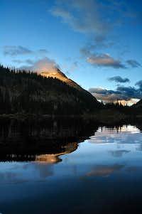 Mount Kitchener Alpenglow