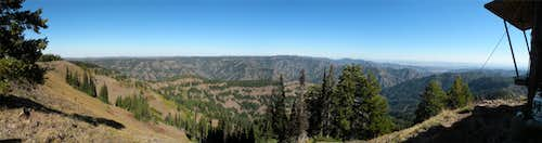 Oregon Butte East Panoramic