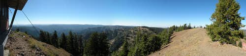 Oregon Butte West Panoramic