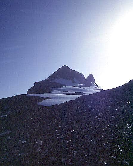 West Ridge of Hockenhorn from near Lötschenpass