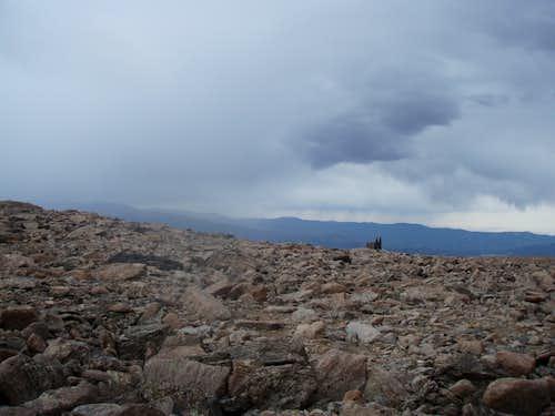 the boulder field
