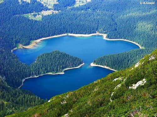 Montenegro glacial lakes