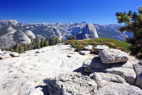 Yosemite high country from Sentinel Dome
