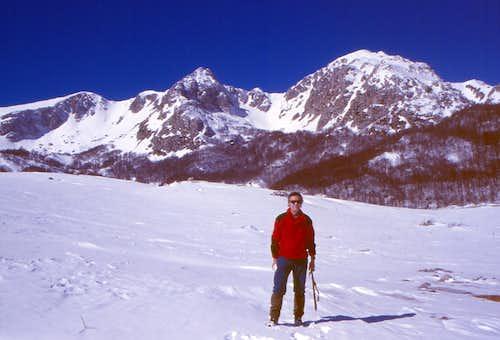 Val Cupella Reaching Monte Petroso