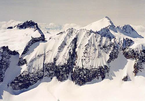Austera Peak\'s Northeast Face...