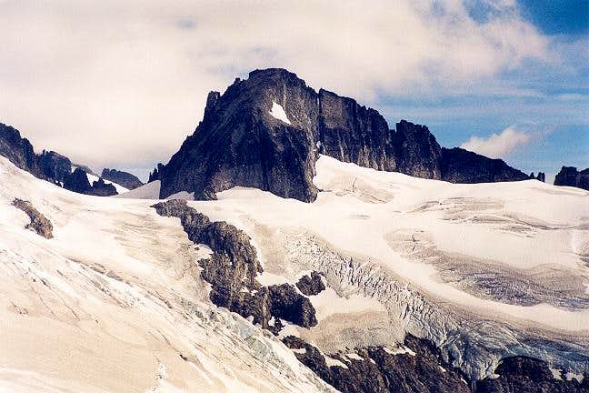 Klawatti Peak's South Face...