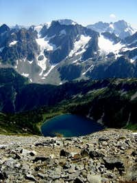 Doubtful Lake from Sahale...