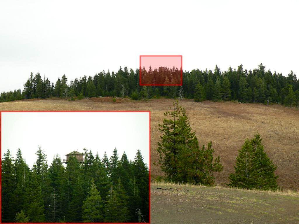 Big Butte From FSR-4304