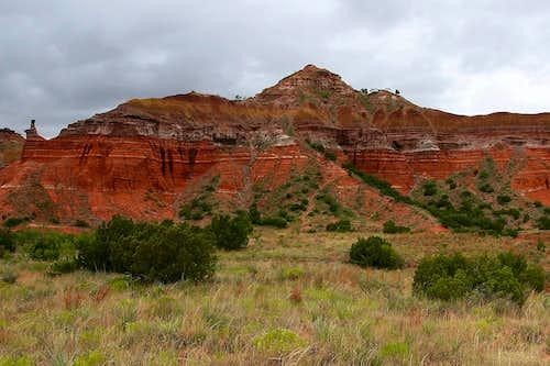 Capitol Peak, Palo Duro Canyon