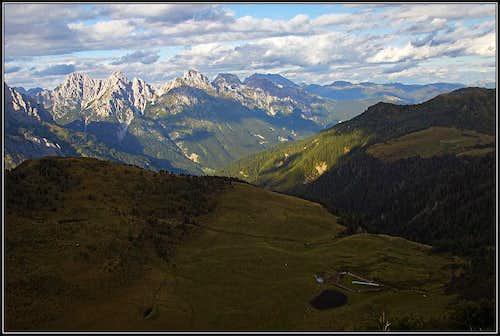 Monte Rioda view
