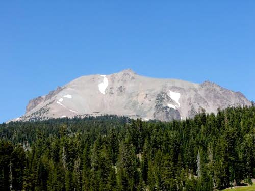 View of Lassen Peak from SE....