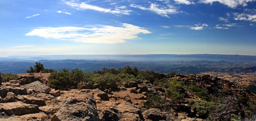 Mt. St. Helena southwest