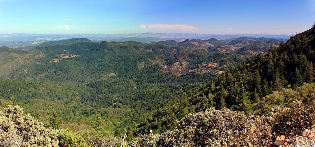 Mt. St. Helena east