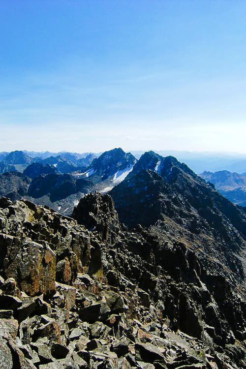 Ripsaw Ridge, Gore Range