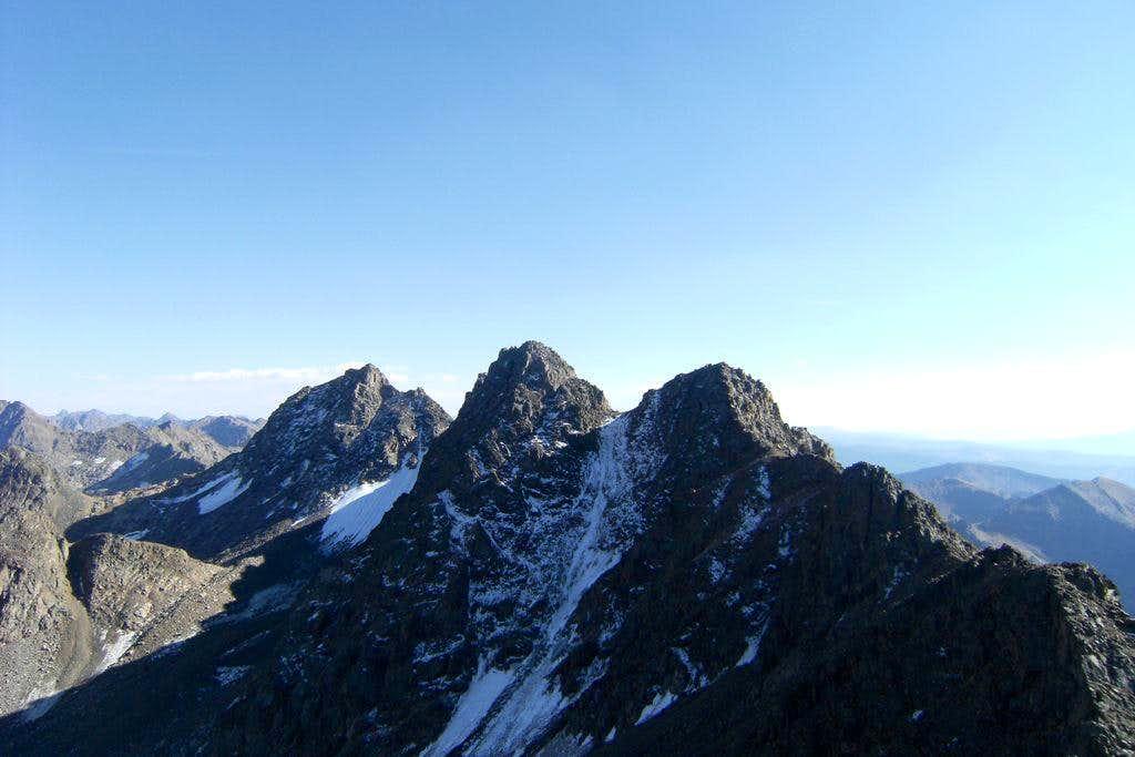 Gore Range: Peak E, Peak F, Peak G