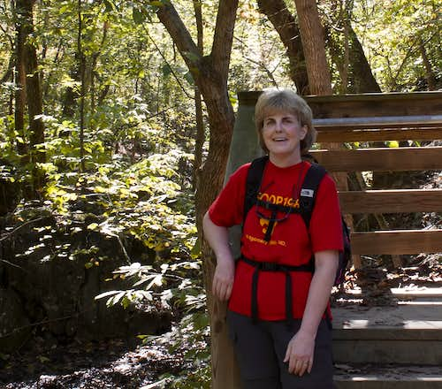 I survived the Billy Goat Trail or the Photographer Finally Gets Her Picture Taken!