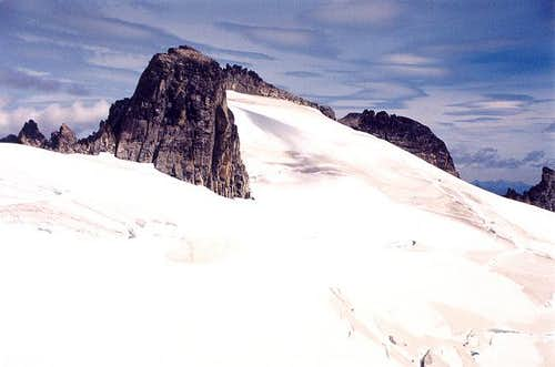 Austera Peak from the south...