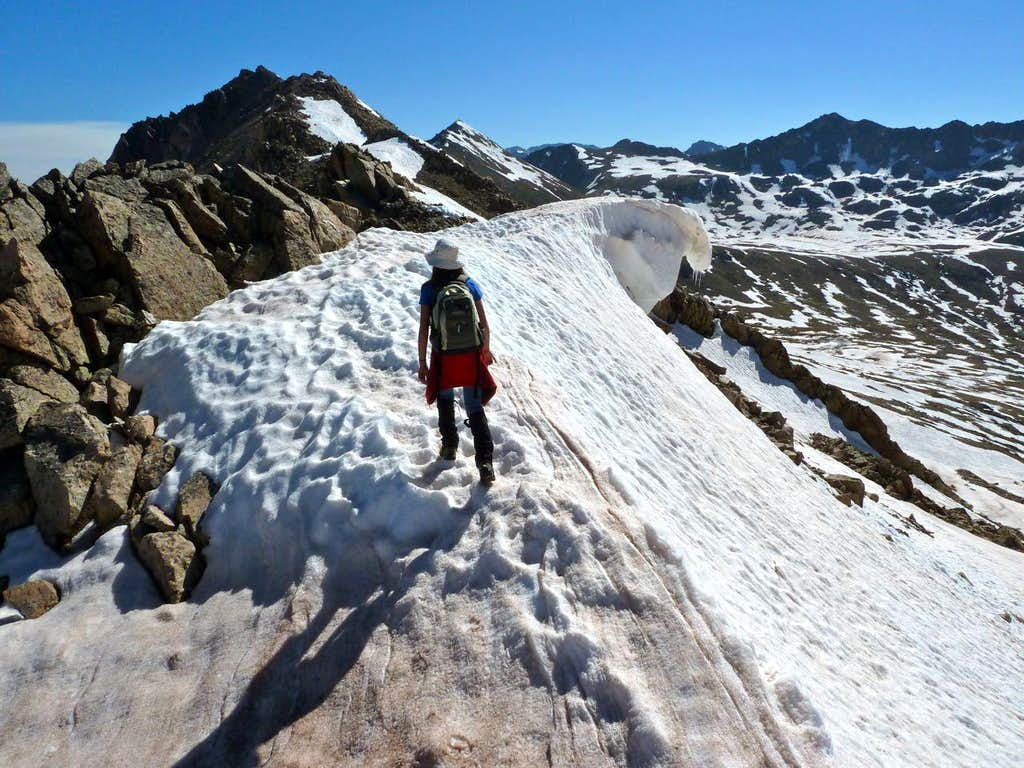 Geissler Mountain Ridge