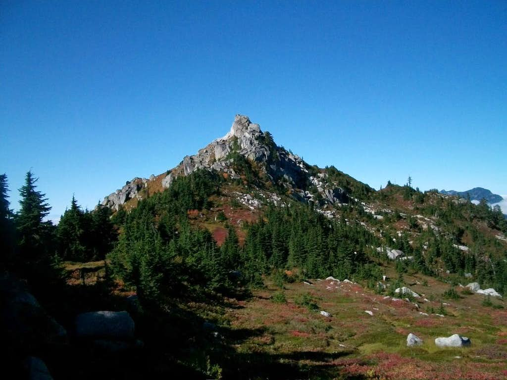 Bald Mountain-East Peak from the trail