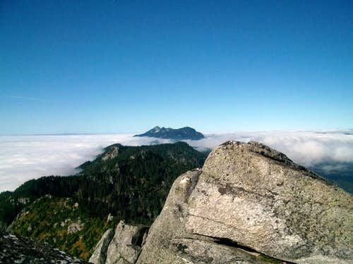 Pilchuck from summit