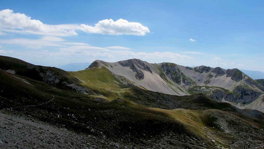 Descending Normal Route of Corno Grande