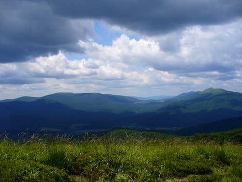 typical view in Bieszczady