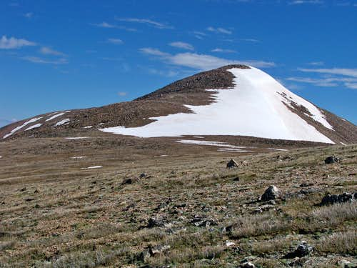 Approaching Ptarmigan Peak