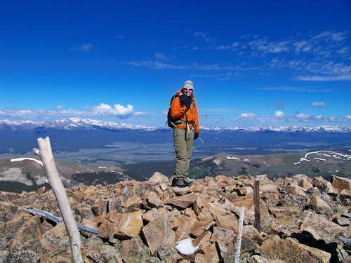 Ptarmigan Peak summit